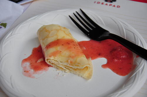 Driscoll's strawberries at Disney's California Food and Wine Festival 2010
