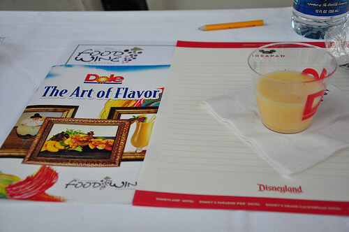 Dole: The Art of Flavor at Disney's California Food and Wine Festival 2010