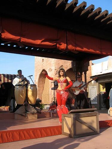Mo'Rockin in the Morocco pavilion