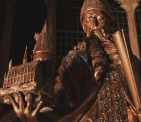 Hogwarts architect