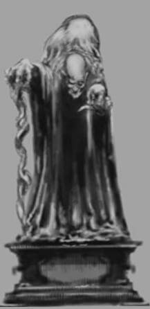 Statue of the one-eyed witch