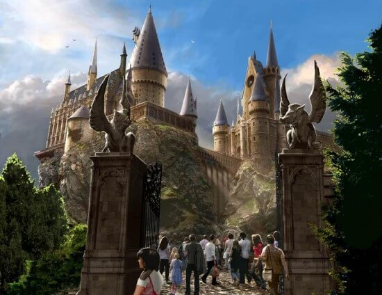 Harry Potter and the Forbidden Journey - Entrance