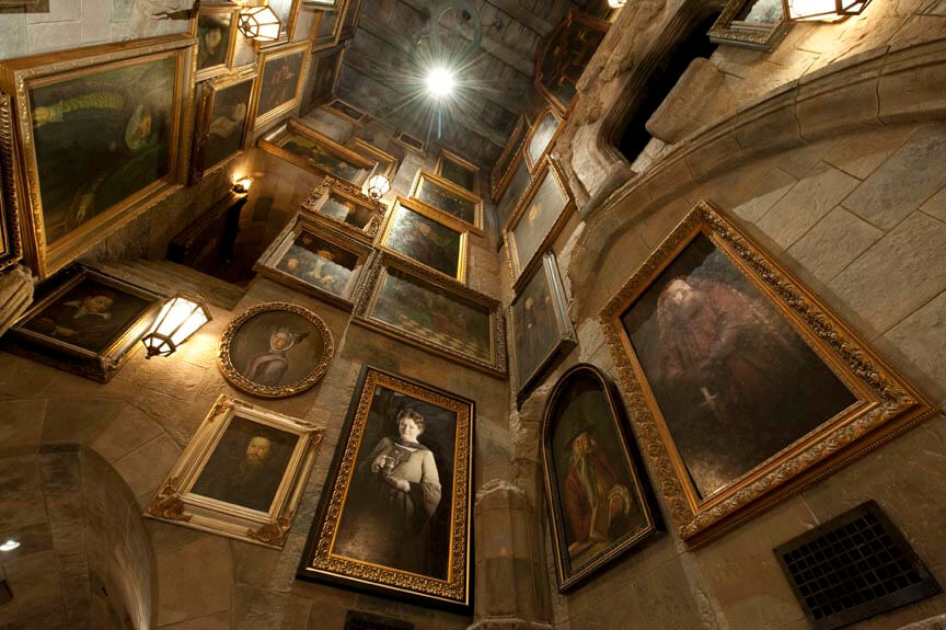 Video Photos Inside The Harry Potter And The Forbidden Journey Attraction