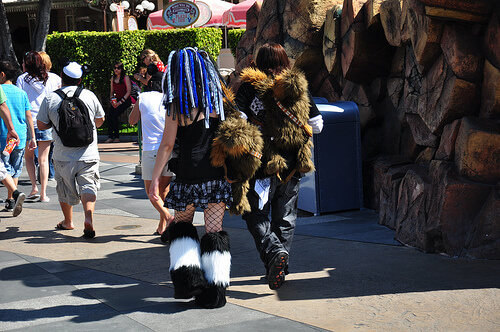Interesting Disneyland park guests