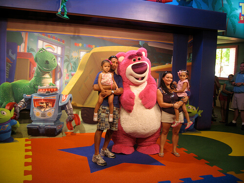 Lotso from Toy Story 3 meet and greet