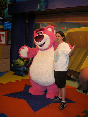 Lotso with Ricky Brigante