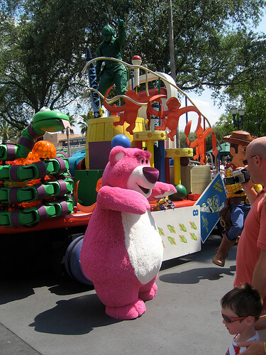 Lotso from Toy Story 3 in Block Party Bash