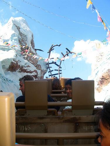Expedition Everest peak