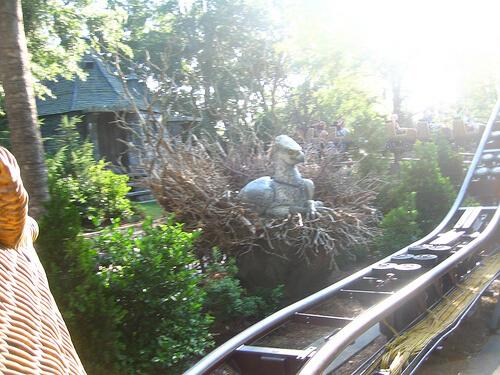 Hippogriff animatronic