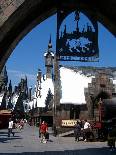 Entrance to Hogsmeade Village