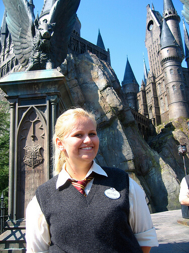 Hogwarts castle with