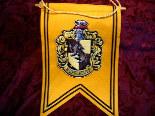 Hufflepuff Crest Banner $22.95