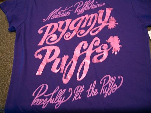 Pygmy Puffs shirt $28.95