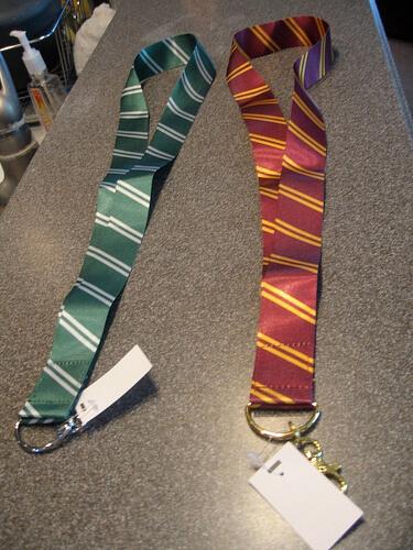 Hogwarts house lanyards $7.95