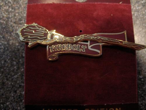 Firebolt Pin $10.95