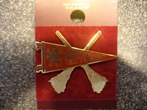 Gryffindor pin $9.95