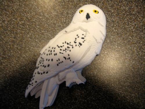 Hedwig magnet $7.95
