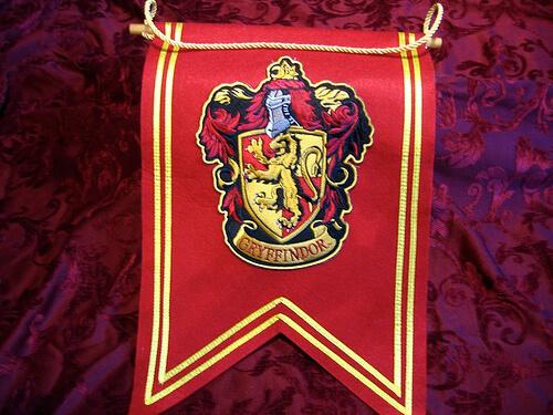Gryffindor Crest Banner $22.95