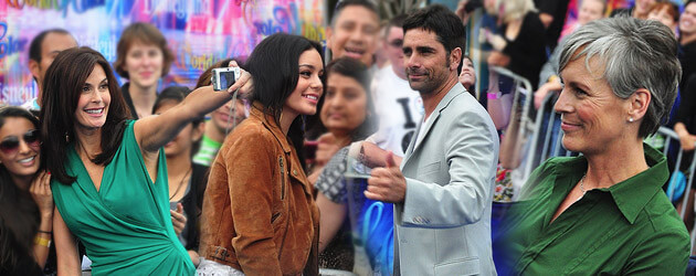 "Vanessa Hudgens, Peter Facinelli, John Stamos among celebrities at ""World of Color"" world premiere event"