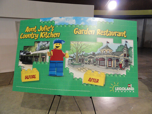 LEGOLAND Florida Garden Restaurant concept