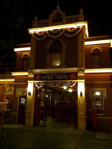 Fire House / Walt Disney's Apartment