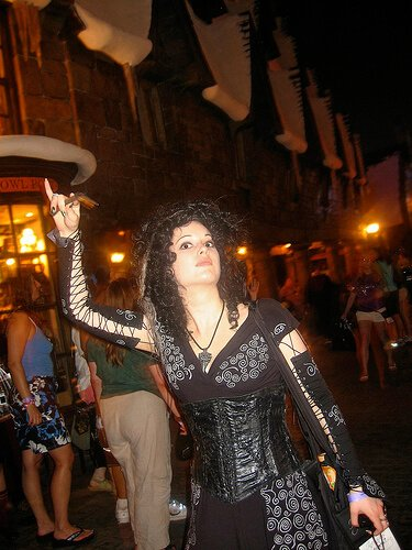 Bellatrix Lestrange costume