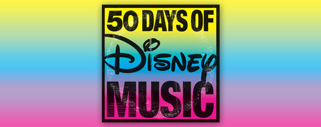 50 Days of Disney Music in 50 Seconds