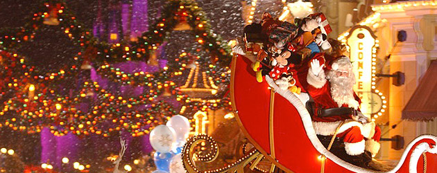 Walt Disney World announces Christmas time plans and dates for 2010