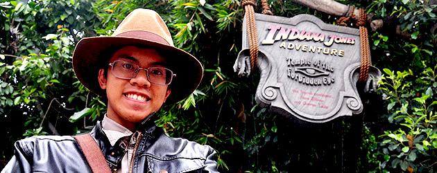 Interview: Disneyland fan Emmanuel Elefante has ridden The Indiana Jones Adventure more than 1,800 times
