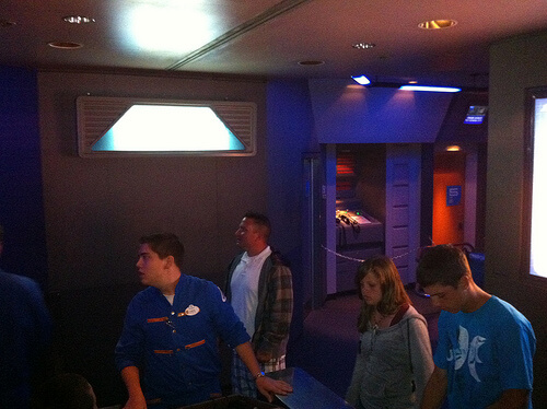 Star Tours loading area