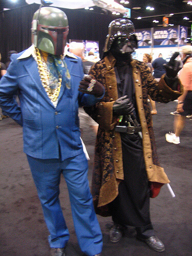 Pimpin' Boba Fett and Darth Vader