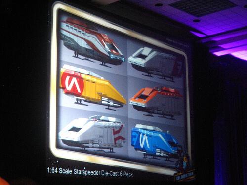 Star Tours Starspeeder 1000 die-cast 1/64 vehicles