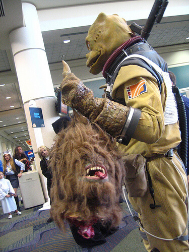 Wookiee decapitated
