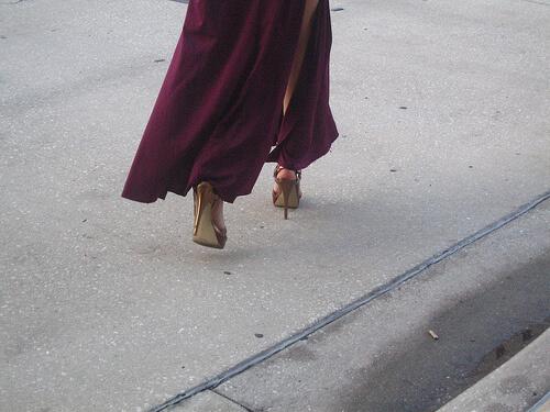 Slave Leia's high heels