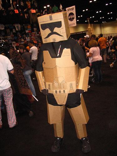 Box Storm Trooper