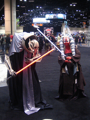 General Grievous and Jedi
