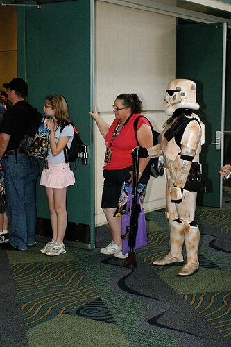 Storm Trooper in line
