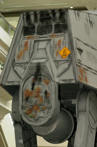 Droid On Board the AT-AT