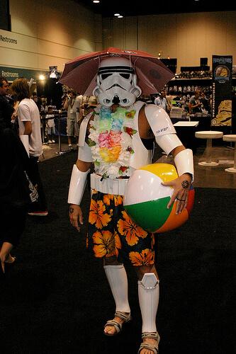 Tourist Storm Trooper