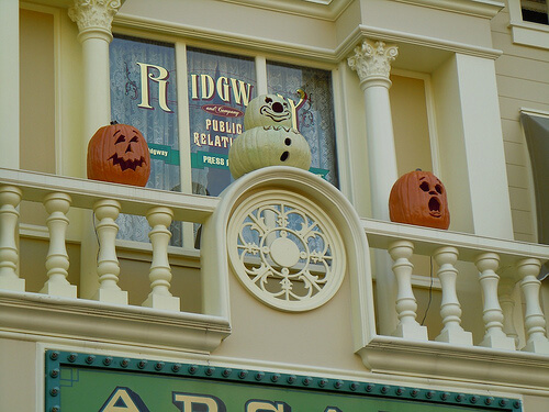 Main Street USA Jack-O-Lanterns