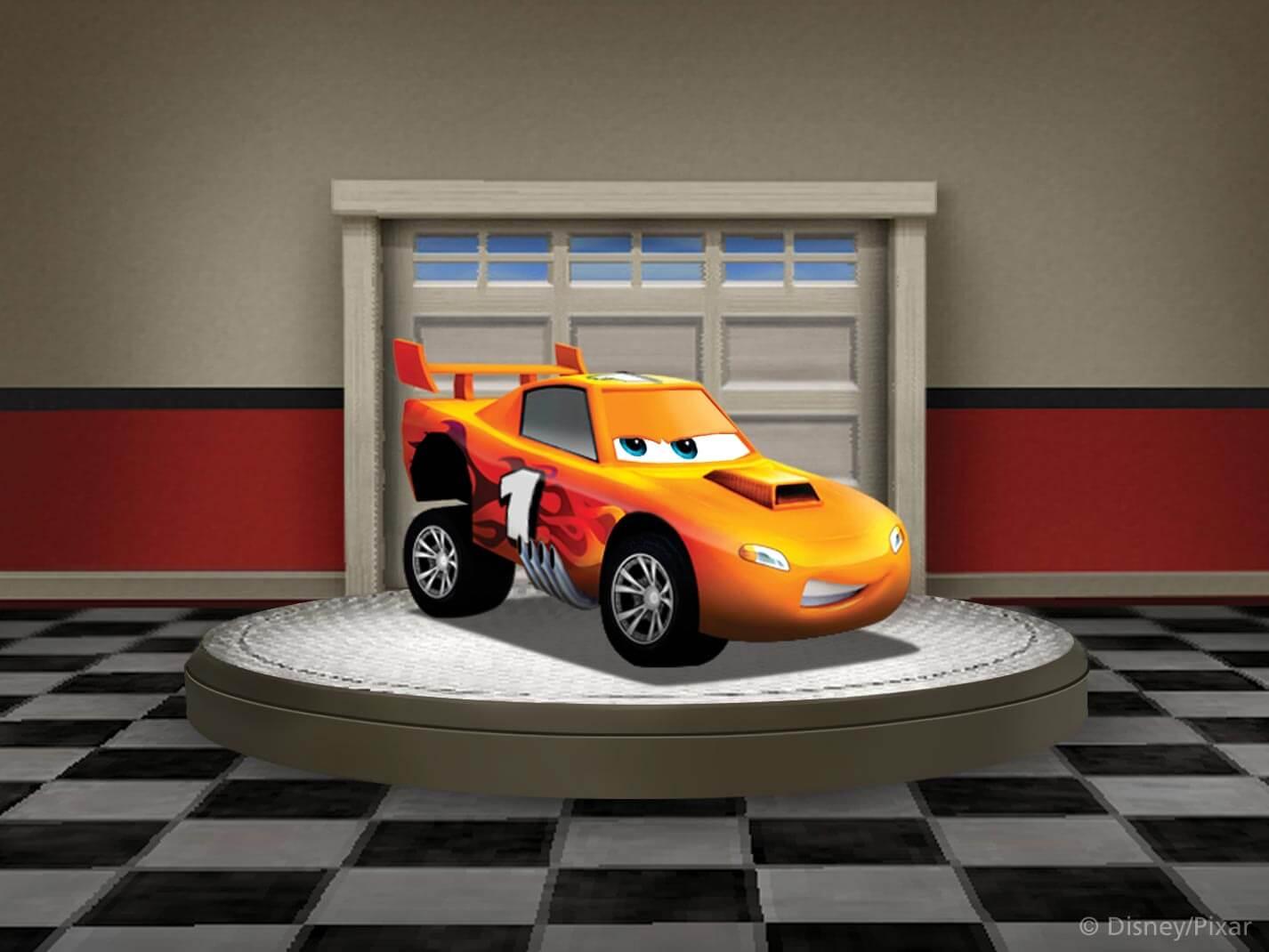 Disney pixar 39 s world of cars online brings free radiator for Garage auto orange