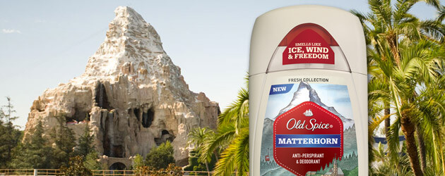 "Old Spice ""Matterhorn"" deodorant scent inadvertently draws Disneyland fan crowd"