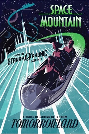 Walt Disney World's Space Mountain debuts on-ride (but off ...