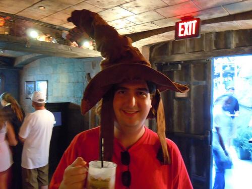 The Sorting Hat sorted me inside Hogwarts