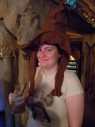 The Sorting Hat sorts Michelle at Hogwarts