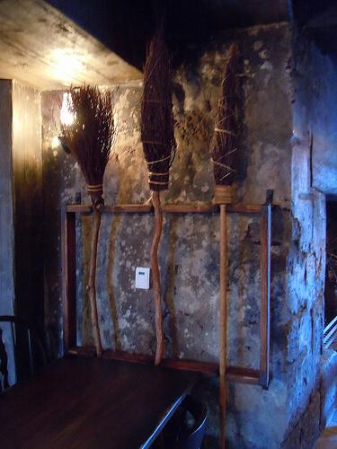 The Three Broomsticks inside the Three Broomsticks restaurant