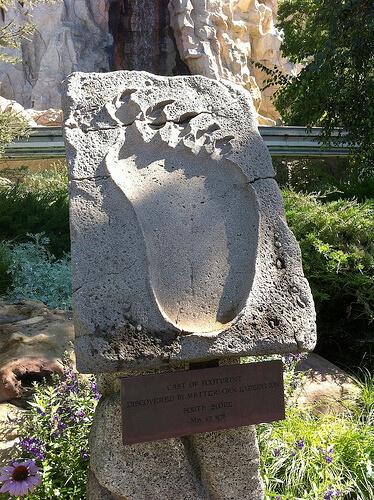 Matterhorn Yeti footprint