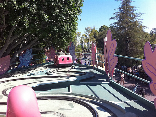 Alice in Wonderland new railings