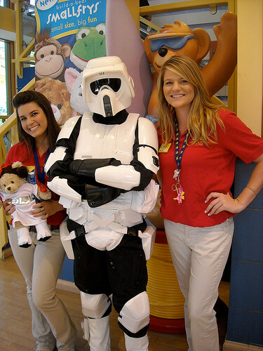 Build-A-Bear Star Wars product launch