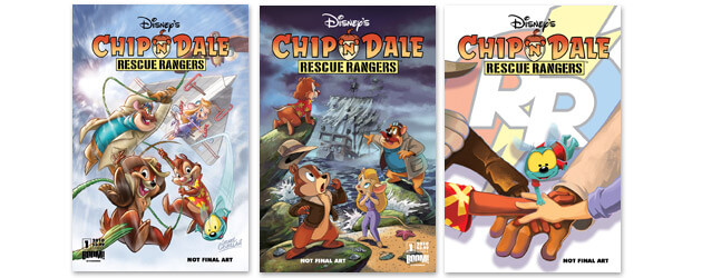 Disney and BOOM! Studios announce Chip 'n' Dale Rescue Rangers ongoing comic book series coming December